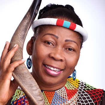 Renowned storyteller Gcina Mhlophe delivers lecture