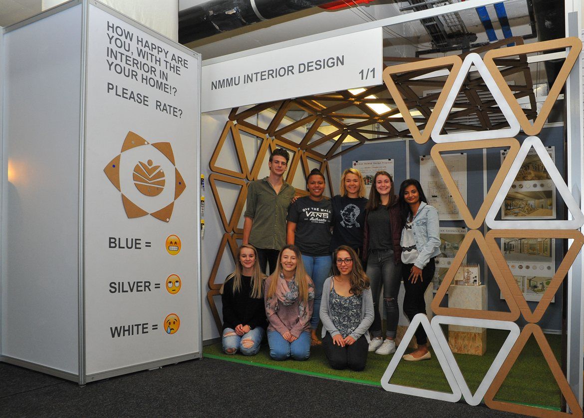 Nmmu Design Students Scoop Gold At Homemakers Expo