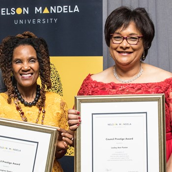 Best of the EC honoured at annual Mandela University Council Awards